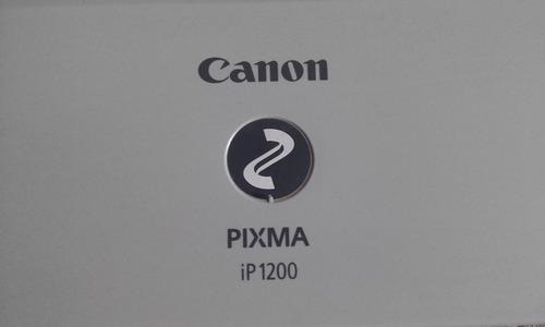 impresora liquido canon pixma ip1200 buen estado funciona