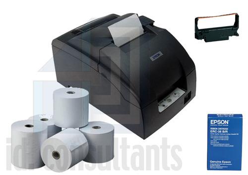 impresora  matricial para pto de venta epson tmu-220d serial