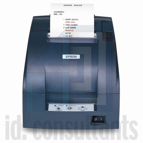 impresora matricial para punto de venta epson tmu-220d