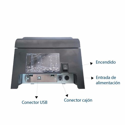 impresora matricial pto de venta auto-id m-250u epson tmu-22