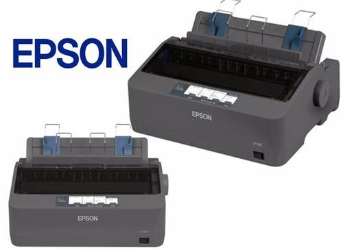 impresora   matriz de punto epson lx 350 nueva