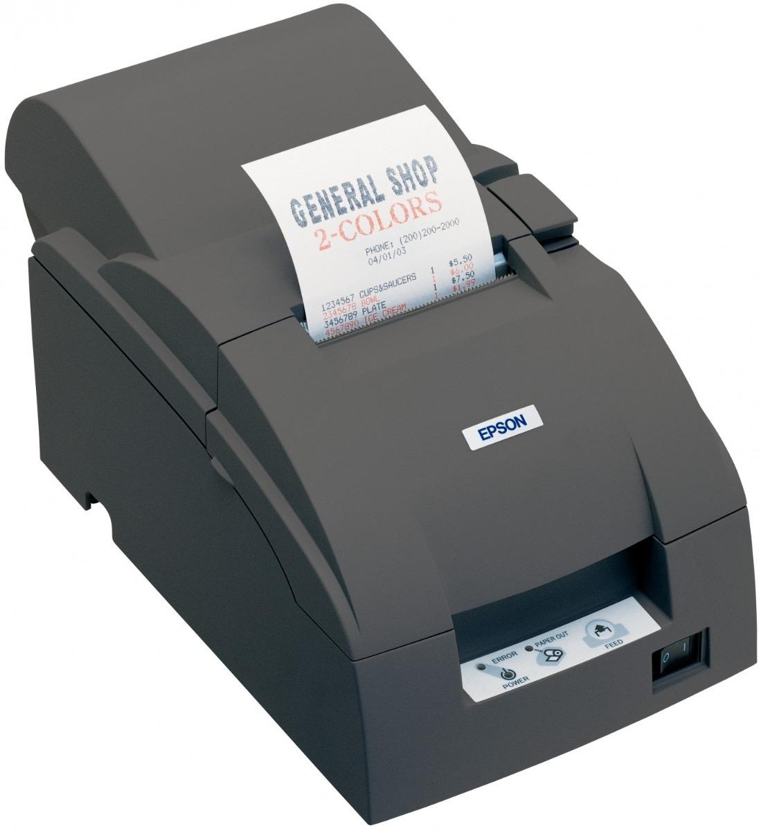 Impresora Pos Matriz De Punto Epson Tm-U220A Serial