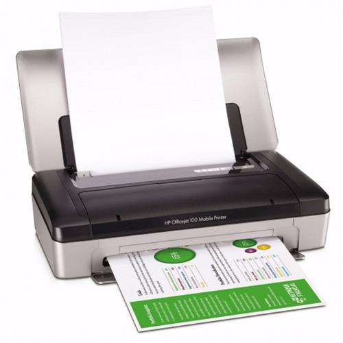 impresora movil hp officejet 100 portatil bateria bluetooth