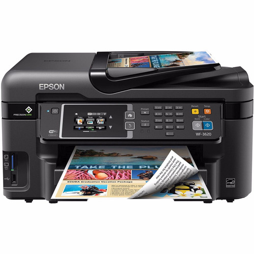 impresora mult epson wf 3620 original de fabrica x6 unidades