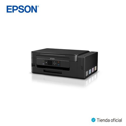 impresora multifucional ecotank l495 inalámbrica epson wifi