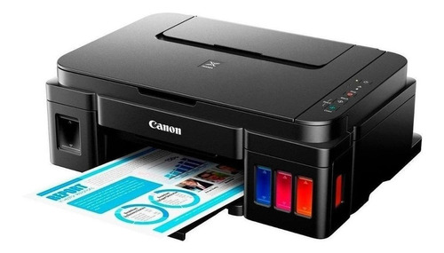 impresora multifuncion a color, tinta canon prixma g2100