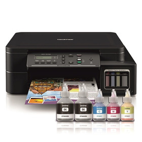 Impresora Multifunción Brother T510 Wifi Sist Continuo+tinta
