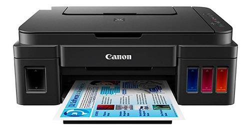 impresora multifunción canon g2100 + botella gi 190 bk