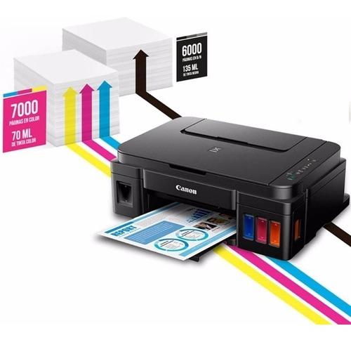 impresora multifunción canon g3100 sistema continuo 4 tintas