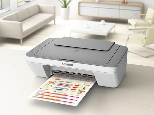 impresora multifuncion canon mg2410 + cartuchos originales