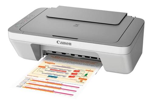 impresora multifuncion canon mg2410 s/cartuchos nueva