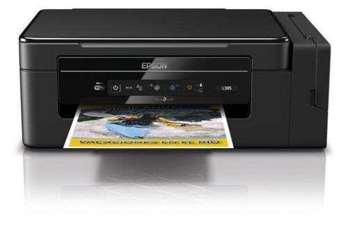 impresora multifuncion epson ecotank l395 sistema continuo