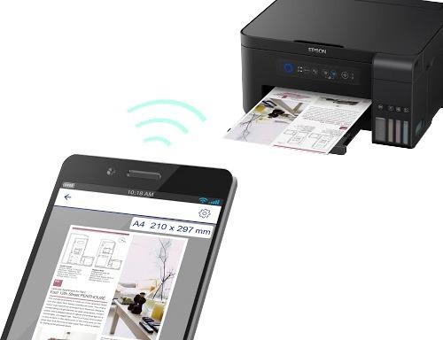 impresora multifuncion epson l4150 wifi l395 + originales