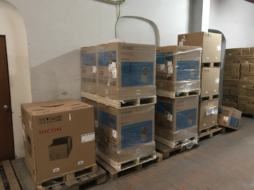 impresora multifuncion fotocopiadora ricoh byn mp 501spf 501