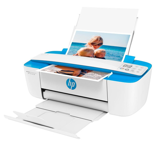 impresora multifunción hp  deskjet 3775 azul con wifi