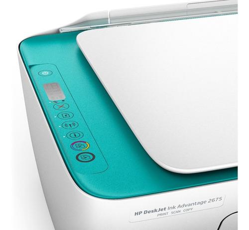impresora multifuncion hp deskjet ink advantage 2675