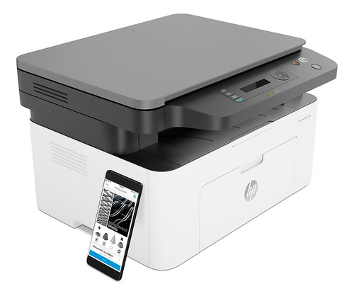 impresora multifuncion hp laser monocromatica wifi usb movil