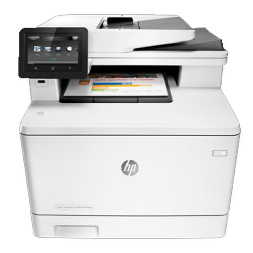 impresora multifuncion hp laserjet m477fdw color escaner fax