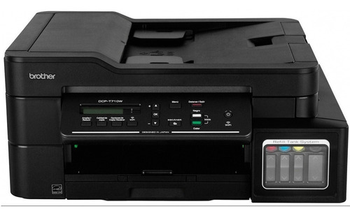 impresora multifuncional brother dcp t710w tanque tinta cont