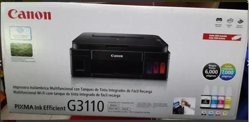 impresora multifuncional canon g3110 wifi estamos atendiendo
