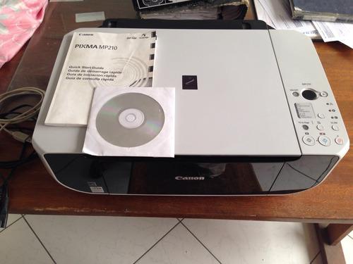 impresora multifuncional canon pixma mp210