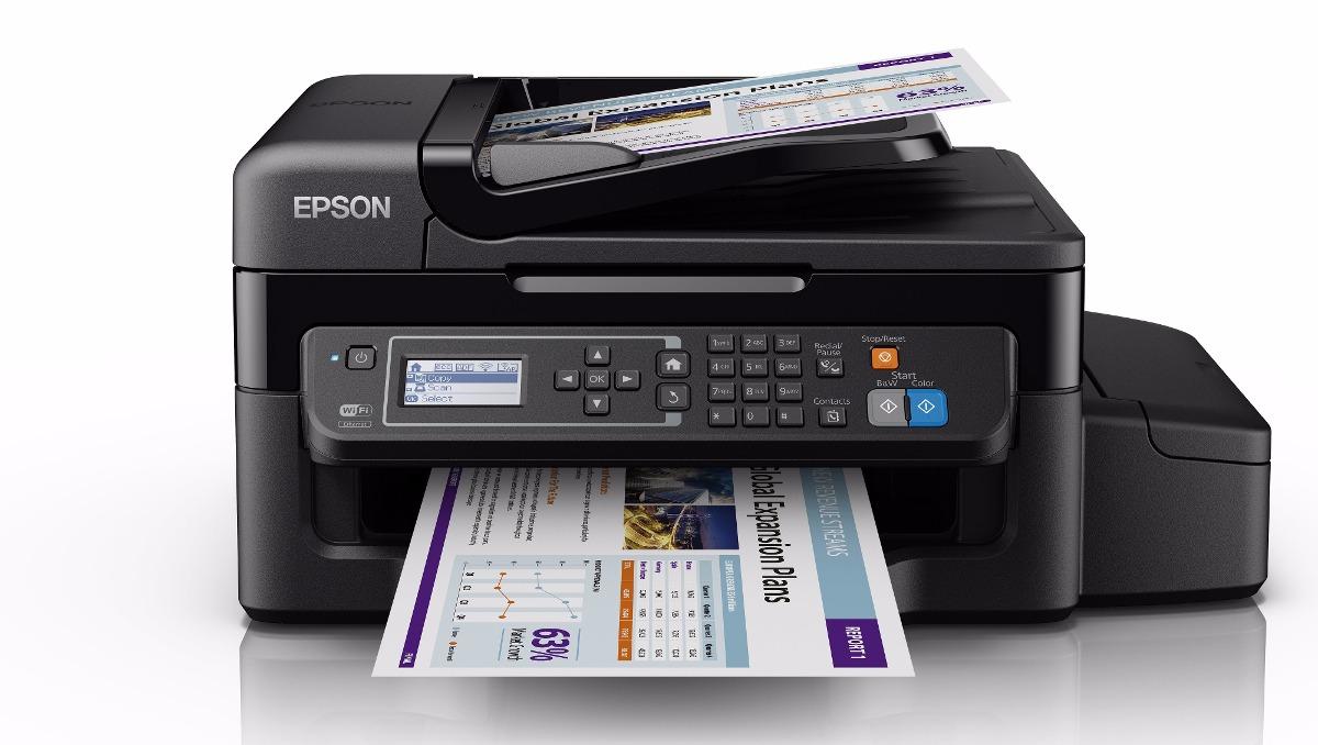 Impresora Multifuncional Epson Ecotank L575 Red Wifi
