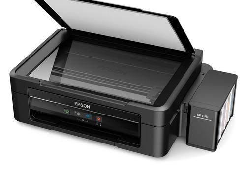 impresora multifuncional epson l380 ecotank + resma carta