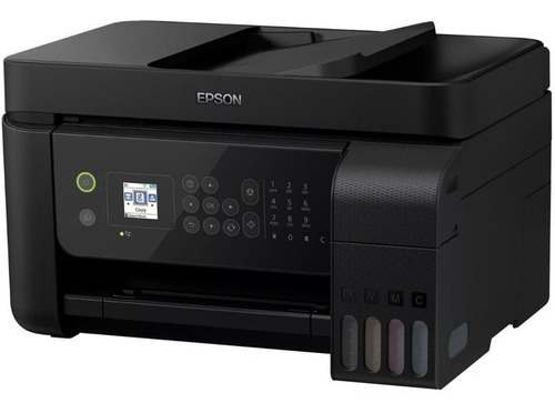 impresora multifuncional epson l5190 ecotank tinta continua adf oficio inalambrica