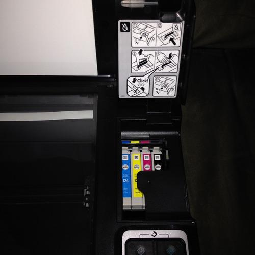 impresora multifuncional epson stylus nx130, excelentes cond
