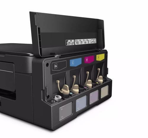 impresora multifuncional epson tinta continua l495 % )