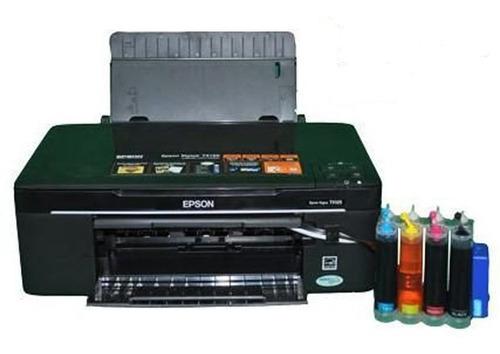 impresora multifuncional epson tx 130 con sistema de tinta