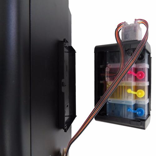 impresora multifuncional epson wf 3620 + sistema continuo