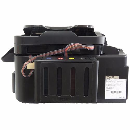 impresora multifuncional epson wf 3620 + sistema sublimación