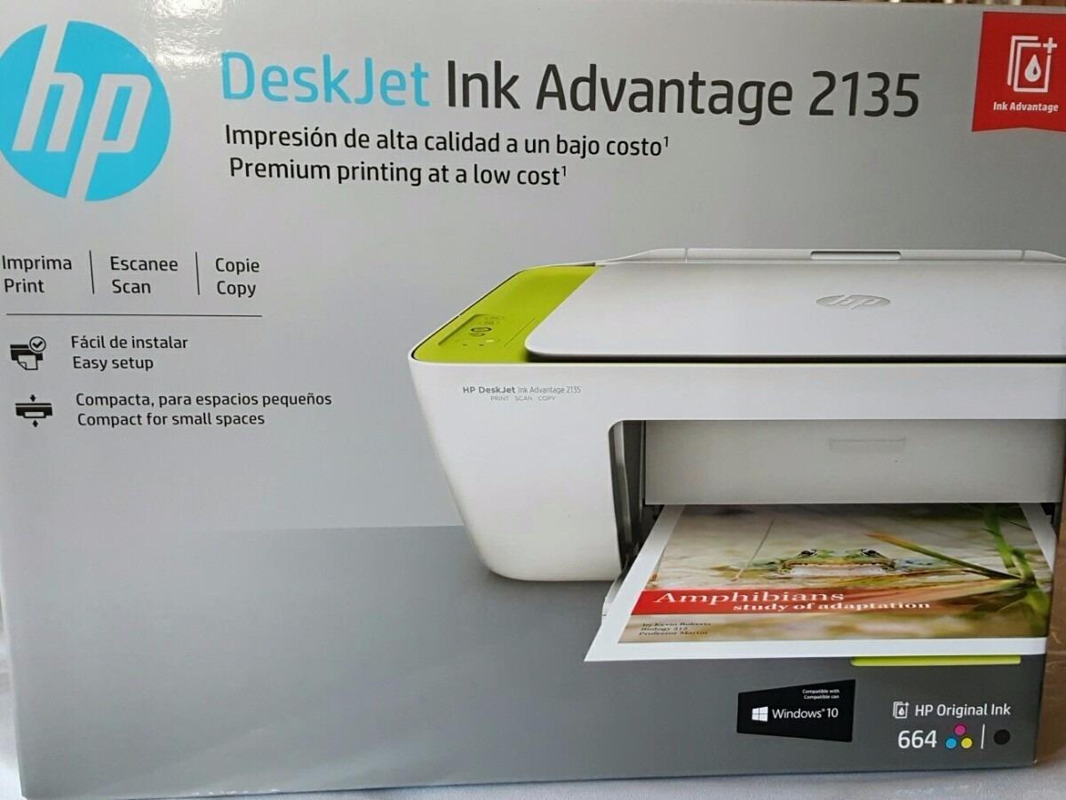 Impresora Multifuncional Hp 2135 Inyeccion De Tinta A Color ...