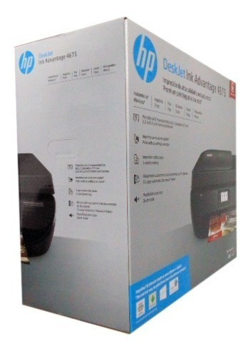 impresora multifuncional hp deskjet 4675 nueva color con iva