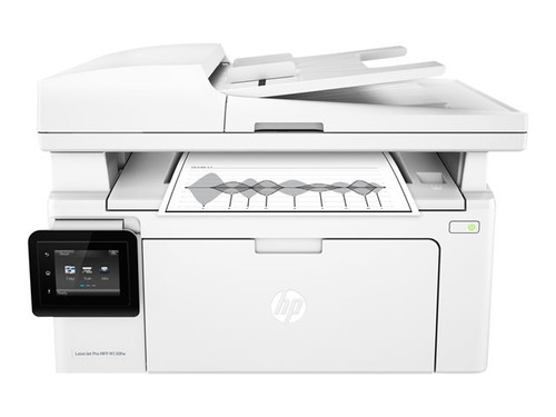 impresora multifuncional hp laserjet pro mfp m130fw - b/n
