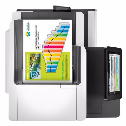 impresora multifuncional hp page wide enterprise mfp 586dn