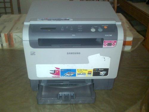 impresora multifuncional laser a color samsung clx 2160