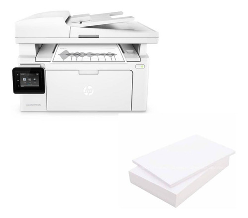 impresora multifuncional laser hp m130fw + resma
