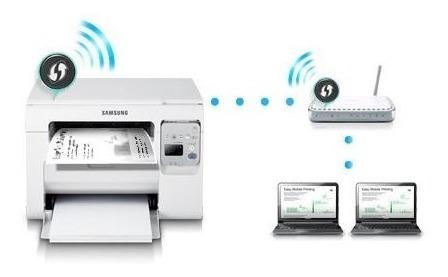 impresora multifuncional laser scx-3405w samsung monocromo