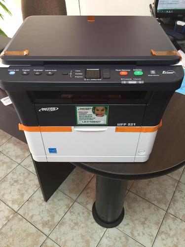 impresora multifuncional monocromatica delcop 521