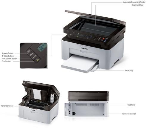 impresora multifuncional samsum m2070fw