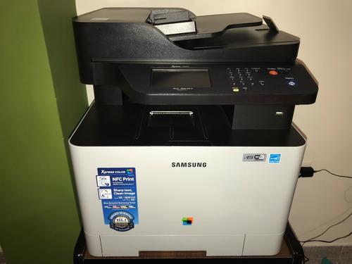 impresora multifuncional samsung xpress c1860 fw full color