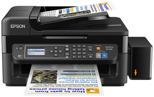 impresora multifuncional wf2630 + sistema continuo de tintas
