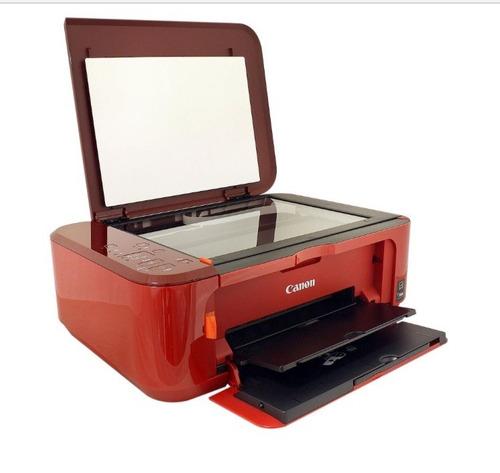 impresora multifuncional wifi canon mg3610 sin cartuchos