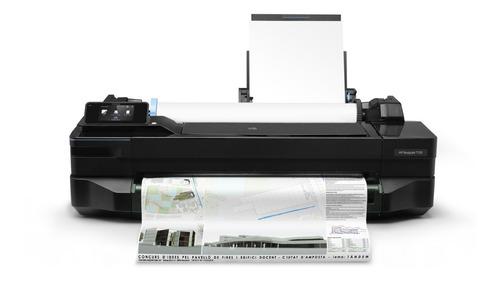 impresora plotter hp designjet t120 24  61 cm wifi