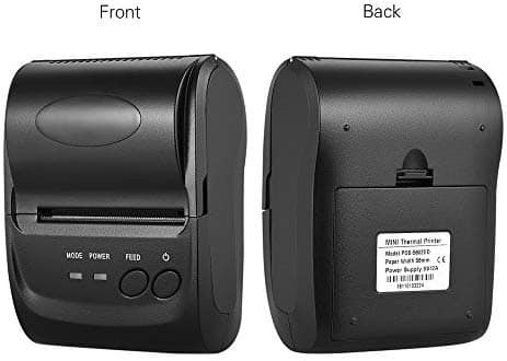 impresora portatil mini thermal printer