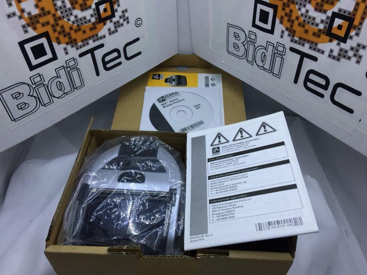 Impresora Portátil Zebra Imz320 Bluetooth -iPhone -iPad -ios