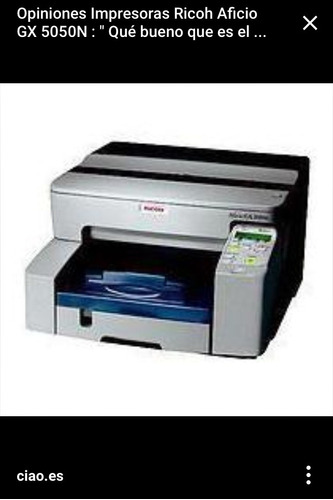 impresora ricoh  aficio 5050n