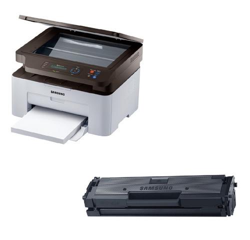 impresora samsung laser multifunción sl-m2070w + 1 toner